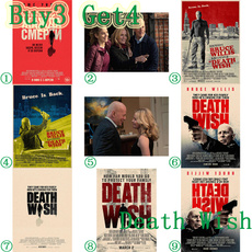 deathwish, posters & prints, Wall Art, Home Decor