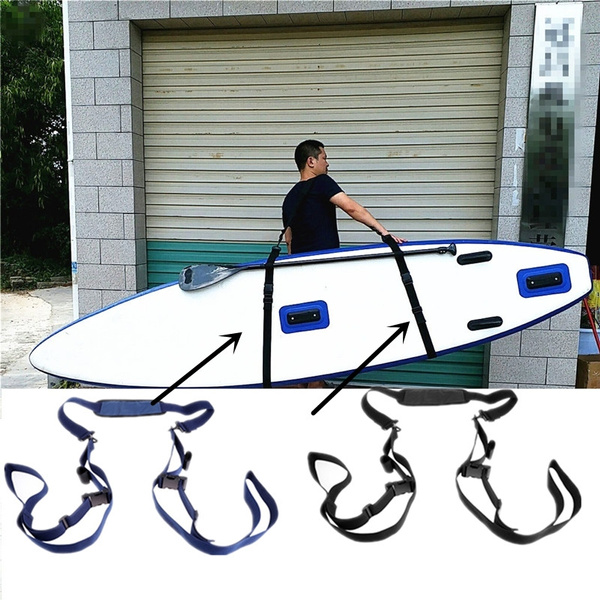 Black SUP Stand Up Paddle Board Surfboard Carry Sling Carrier Storage Strap