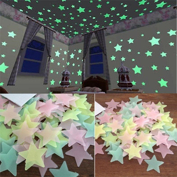 Decor, Star, Stickers, kids wall stickers