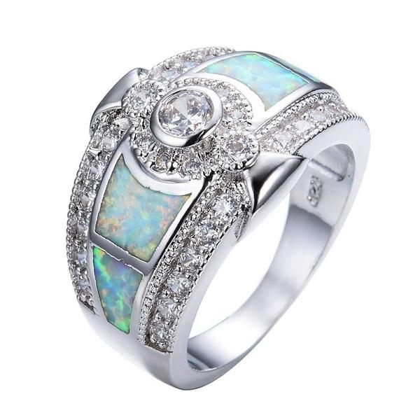 Cubic Zirconia, Silver Jewelry, DIAMOND, 925 sterling silver