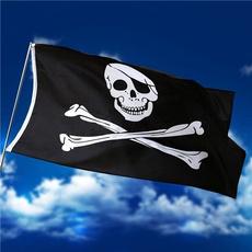 ghostflag, pirateflag, skull, bannersampaccessorie