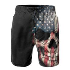 americanflagpant, Beach, skull, skullprint