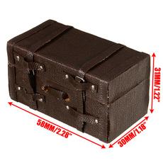 Mini, dollhouseminiaturesuitcase, Dollhouse, Luggage