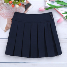 Mini, bowknot, Pleated Skirt, Shorts