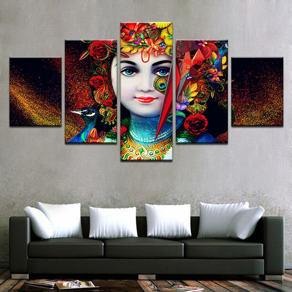 Decor, living room, religionpainting, canvaspainting