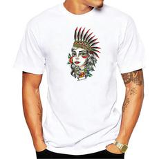 Fashion, Slim T-shirt, roundnecktshirt, Beauty