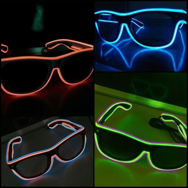 Fashion, led, partyglasse, Fashion Accessories