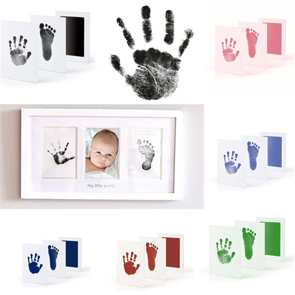 Baby, inkamppad, babyfootprint, footprintsmat