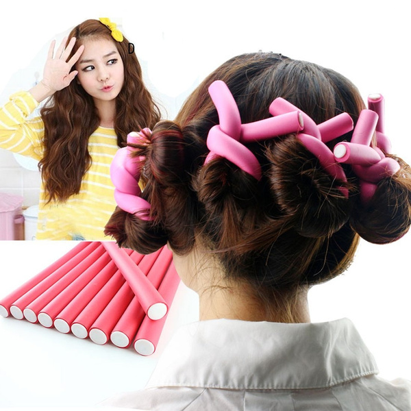 hairstyle, Curlers, Tool, Foam