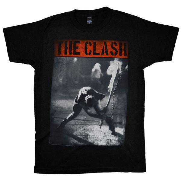 rockthecasbah, clash, theonlybandthatmatter, teeshirthomme