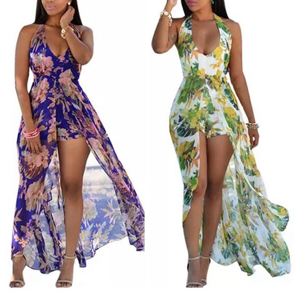 Summer, floralprintdres, long dress, Dress
