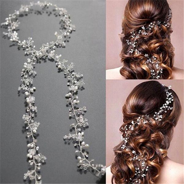 womenheadband, hairtiara, hair jewelry, pearls