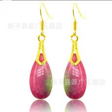 Ear Drops, Red, Colorful, peachblossomjadered