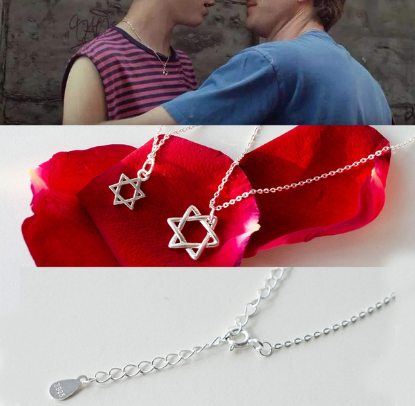 André Aciman Call Me by Your Name Elio Necklace