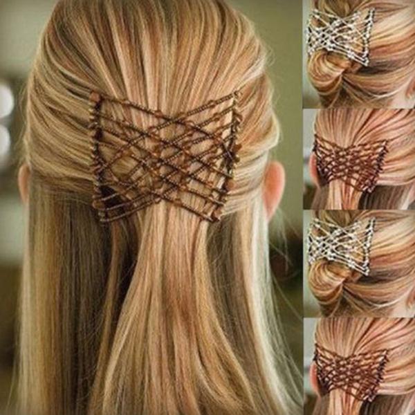 Womens Accessories, Combs, Magic, Metal