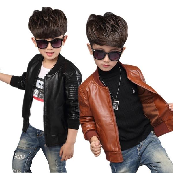 Boy, Fashion, coatsampjacket, leather