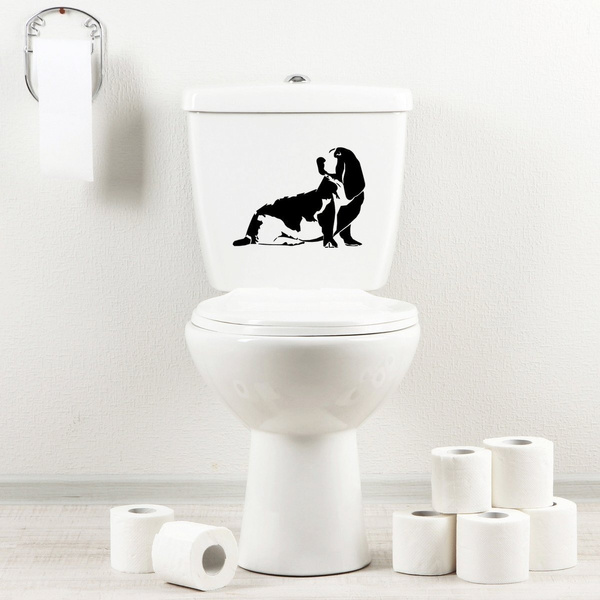 basset, toilet, Bathroom, for