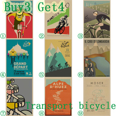 Bicycle, posters & prints, Wall Art, Home Decor