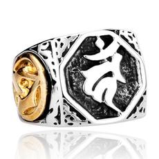 Steel, titanium steel, Jewelry, Stainless steel ring