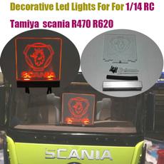 Decorative, tamiya, led, scania