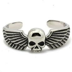 Steel, Stainless, bikerbracelet, Titanium Steel Bracelet