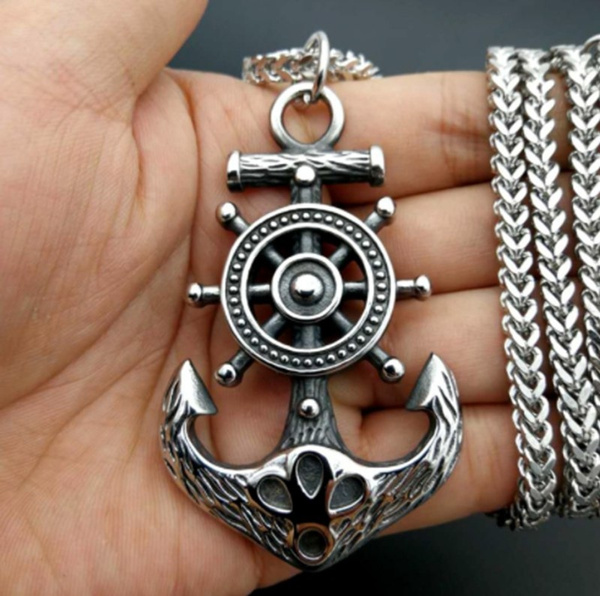 Fashion, punk necklace, Stainless Steel, Hip Hop