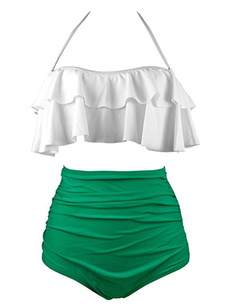 Plus Size, tankini bathing suits, Halter, swimsuits for women