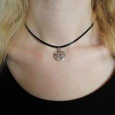 pentagrampendant, Grunge, Jewelry, wicca