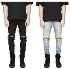 men jeans, Fashion, pants, rippedjean
