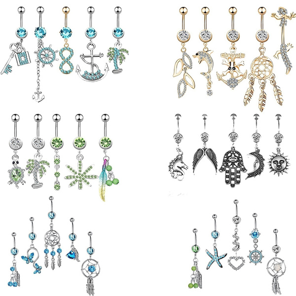 Steel, surgicalsteel, navel rings, Jewelry
