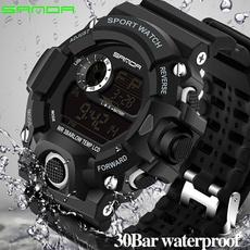Fashion, led, casual sports watch, Waterproof