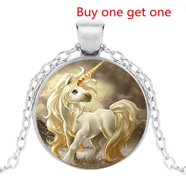 unicornjewelrynecklace, Jewelry, unicornpendant, animeunicorn