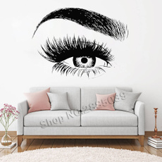 eye, Home Decor, Beauty, Wall Decals & Stickers