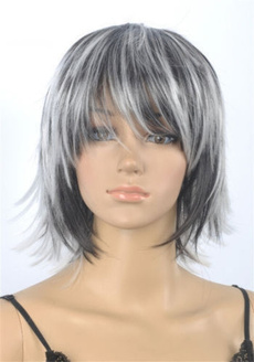 wig, Gris, Shorts, Cosplay