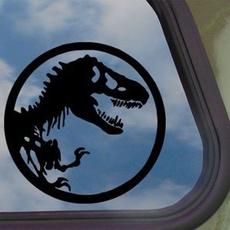 jurassic, Dinosaur, Stickers, park