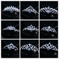 hair, bridalhairaccessorie, crystalheadband, crownstiara