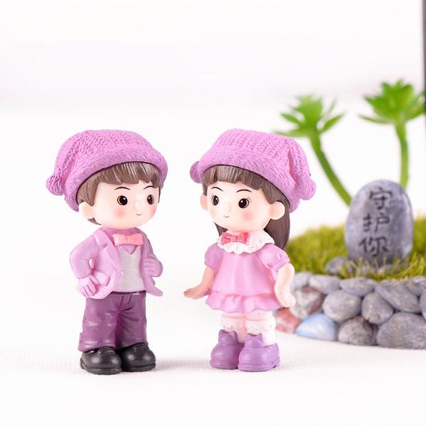 Kawaii, cute, miniaturegarden, Garden