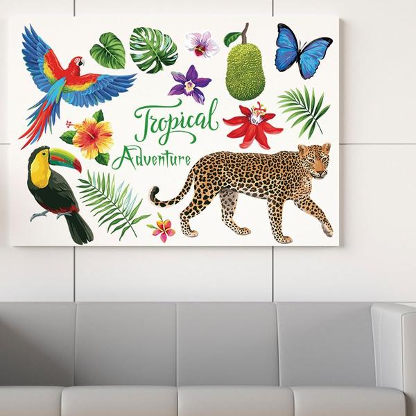 Car Sticker, Flowers, Home Decor, Home & Living