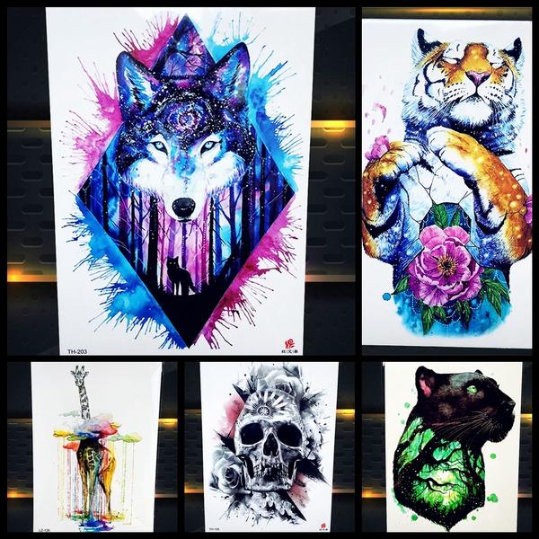 tattoo, galaxywolf, art, Heart