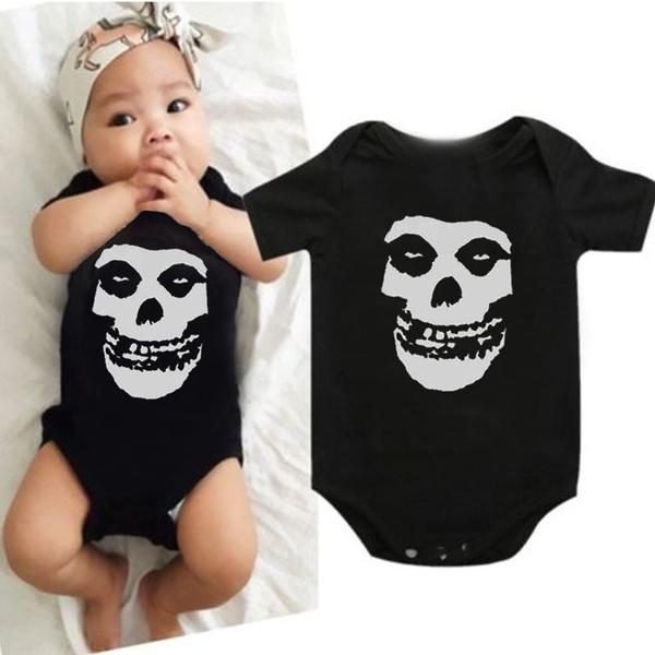 skullbodysuit, Fashion, babyromper, skull