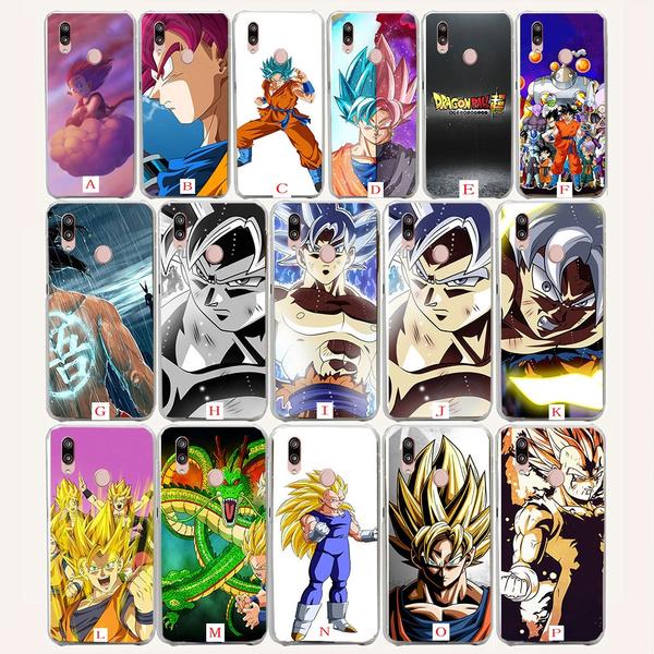 414wf Super Saiyan Dragon Ball Z Goku Gohan Vegeta Vegetto Anime Hard Case for Coque Huawei P20 P10 P9 P8 lite 2017 2016 2015 Plus Mini P Smart cover ...