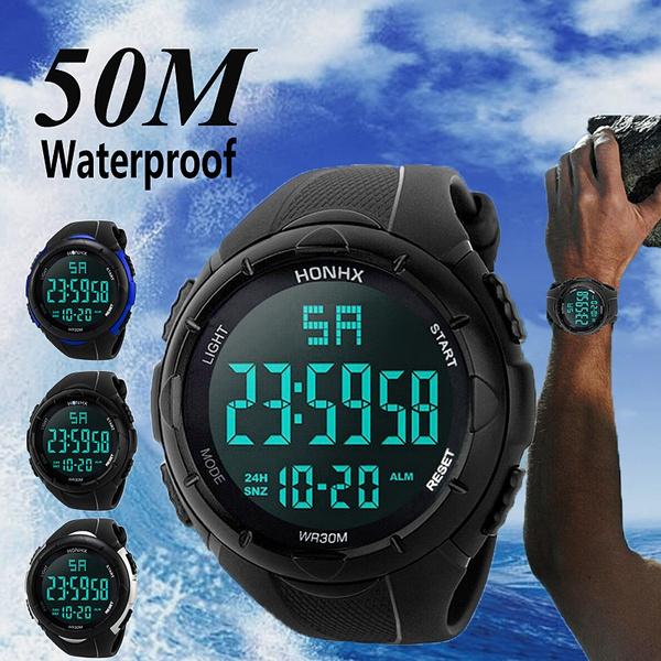digitalwatche, led, armywatch, waterproofwatchesformen