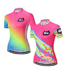 pink, Summer, Fashion, Cycling