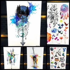 tattoo, art, Dreamcatcher, Tattoo sticker