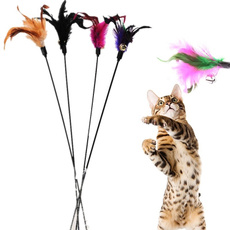 Funny, catplayingtoy, wand, Gifts