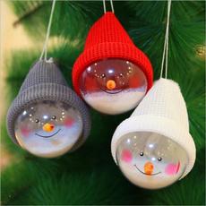 Fashion, Home Decor, snowmanball, lovelychristmasornament