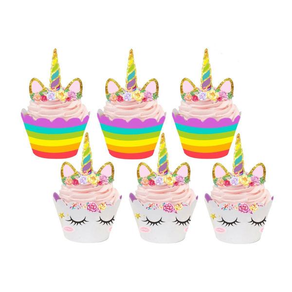 Baby, rainbow, Shower, cakewrapper