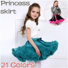 childrenspartyskirt, balletdancewear, Princess, chiffon