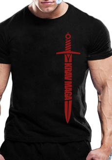 Cotton T Shirt, summer t-shirts, tshirt men, kravmaga