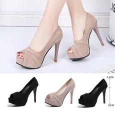 Summer, Fashion, velvet, Womens Shoes